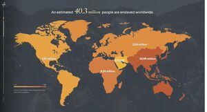 روایتی از وضعیت بردهداری مدرن در جهان