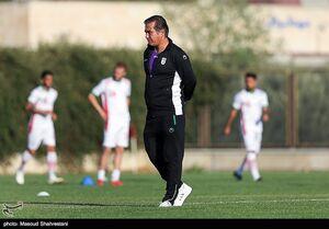 عکس/ اولین تمرین تیم ملی فوتبال امید با حضور استیلی