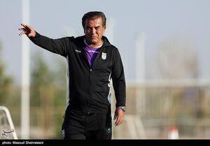 عکس/ اولین تمرین تیم ملی فوتبال امید با حضور حمید استیلی