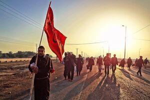 فیلم/ راهپیمایی از ملاشیه تا کربلای حسینی
