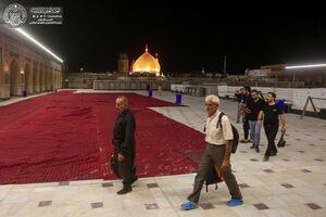 عکس/ صحن حضرت زهرا(س)در آستانه اربعین