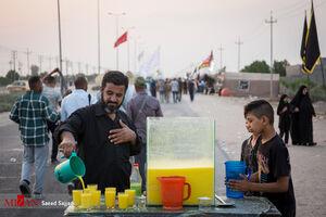 """عکس/ شور و حال زائران حسینی در مسیر""""الدیر"""""""