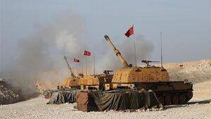 فیلم/ حملات ترکیه به شهر راسالعین سوریه