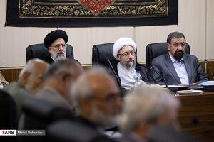 عکس/ غیبت روحانی در جلسه امروز مجمع