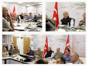 اطاق فرماندهی عملیات نظامی ترکیه