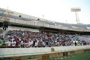 عکس/ حال و هوای ورزشگاه پیش از بازی ایران