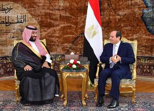 السیسی و محمدبن سلمان