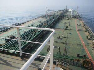 جزئیات سانحه امروز برای نفتکش ایرانی +عکس