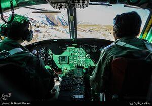تصویر هوایی مرز مهران