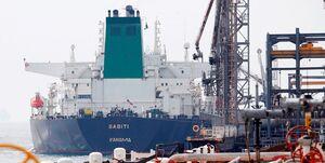 نفتکش سابیتی وارد آبهای سرزمینی ایران شد