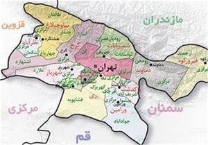 چند درصد مساحت تهران از زمینخواران بازپس گرفته شد + نقشه