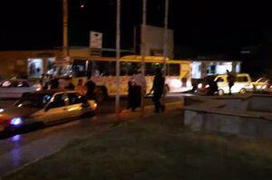 وضعیت ترافیک در شهر مهران