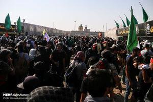 سیل خروشان زائران در مرز مهران