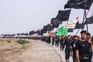 استقبال زائران از اربعین دلیلی بر اتفاق نظر ایران و عراق است +عکس