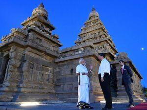 دیدار رئیسجمهور چین با نخستوزیر هند