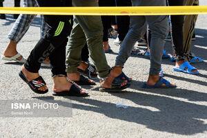 عکس/ دستگیری سارقان و زورگیران پایتخت