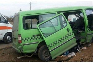 ۶ مصدوم در تصادف خودروی «ون» در عراق