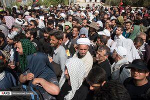 عکس/ زائران اربعین حسینی در خسروی