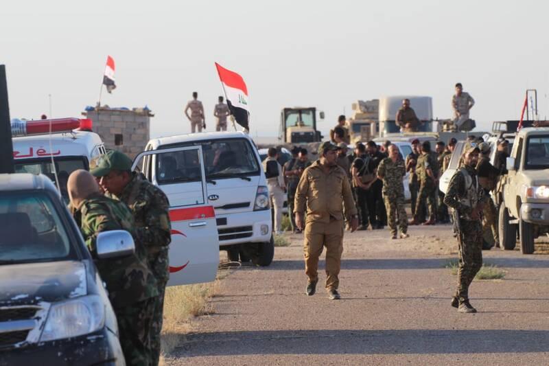 عملیات بزرگی که در ناآرامیهای عراق گم شد/ پاکسازی مساحت ۱۲ هزار کیلومتر مربعی در استانهای صلاح الدین، الانبار و کرکوک عراق + نقشه میدانی و عکس