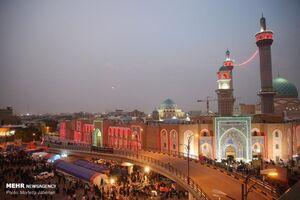 عکس/ شب های اربعینی نجف اشرف