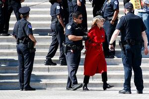 برنده اسکار در تظاهرات اعتراضی آمریکا دستگیر شد