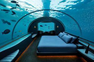 عکس/ اولین ویلای زیر آبی جهان