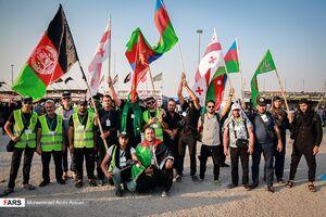 عکس/ حضور اتباع خارجی در مرز شلمچه