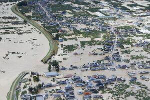 همدردی موسوی با دولت و ملت ژاپن در پی وقوع سیل و طوفان در این کشور