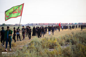مشارکت ۳ هزار نیروی حشدالشعبی در تامین امنیت مراسم اربعین