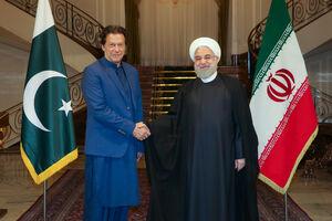 استقبال روحانی از عمران خان