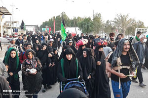 فیلم/ خوشآمدگویی جالب عراقیها به زوار ایرانی