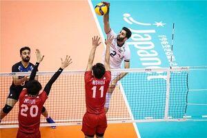فیلم/ شکست تیم ملی والیبال ایران مقابل ژاپن
