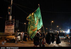 عکس/ شور حسینی در نقطه صفرمرزی شلمچه