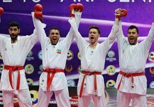 کاراته ایران با صدرنشینی در راه المپیک