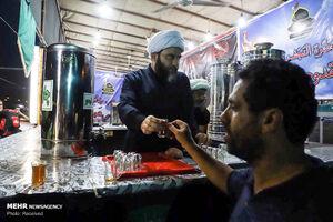 عکس/ خادمی رئیس سازمان تبلیغات اسلامی در مرز شلمچه