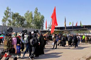 فیلم/ آخرین وضعیت تردد زائران اربعین در مرزها