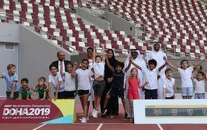 اعتراض جوانان قطری به حضور ورزشکاران صهیونیست در دوحه