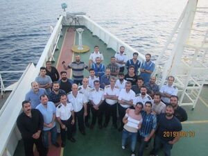 تصاویر پرسنل نفتکش سانحه دیده ایرانی