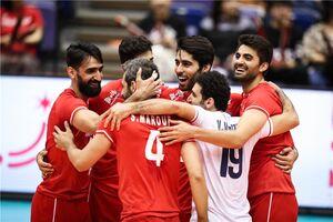 جایگاه ایران در پایان روز دهم جام جهانی والیبال