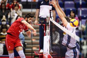 امتیازآورترین بازیکن ایران مقابل ایتالیا