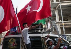 بازی فرانسه-ترکیه تحت تاثیر حمله به سوریه
