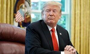فیلم/ پاسخ جالب مجری به مظلومنمایی ترامپ