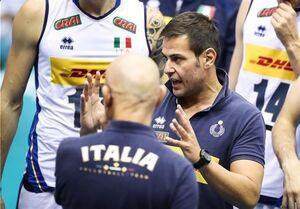 سرمربی ایتالیا: بازی با ایران سخت و عجیب بود