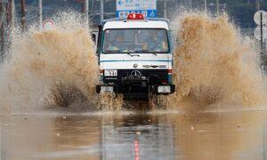 تصاویر جدید از خسارت سیل در ژاپن