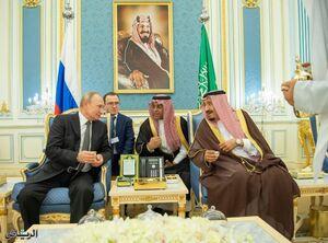 سفر پوتین با عربستان