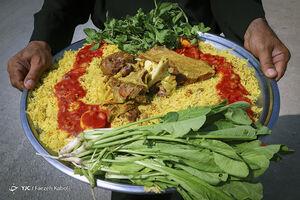 عکس/ سفرههای رنگی عراقیها برای زائران