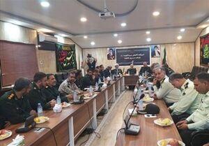 حضور رئیس سازمان اطلاعات سپاه در مرز شلمچه