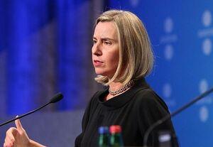 موگرینی: نمیخواهیم کُردها به نظام اسد و روسیه نزدیک شوند