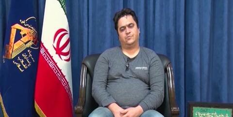 فیلم/ اولین تصاویر از بازداشت و اعترافات روحالله زم