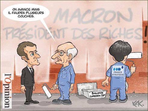ماکرون، رئیس جمهور ثروتمندان